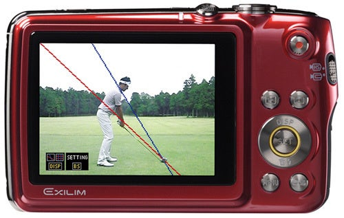 Casio Exilim EX-FS10 Camera Is Also Your Smarmy Golf Pro
