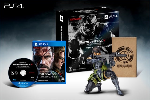 So Many Different Metal Gear Solid V Ground Zeroes Bundles in Japan!