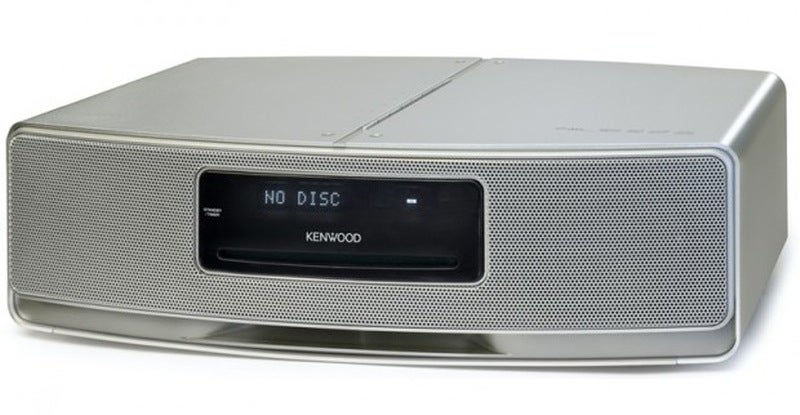 Kenwood DTS Bookshelf CD Player Promises Surround Sound Over Two Channels
