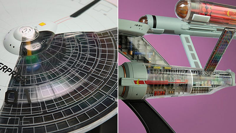 Cut-Way Enterprise Model Makes It Way Easier To Build Your Own Starship