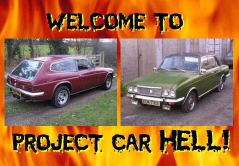 Project Car Hell, UK Edition: Reliant Scimitar or Humber Sceptre?
