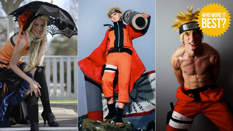 Naruto Shows Ninja Look Good in Orange