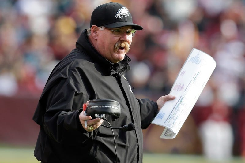 Philadelphia Gets Down To Brass Tacks, Just Asks Andy Reid If He's Going To Resign