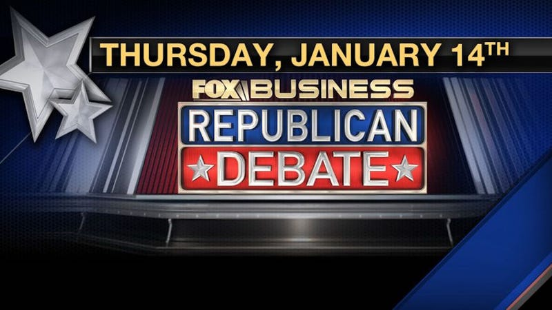 How to Stream Fox Business' Republican Debate Tonight, No Cable Required