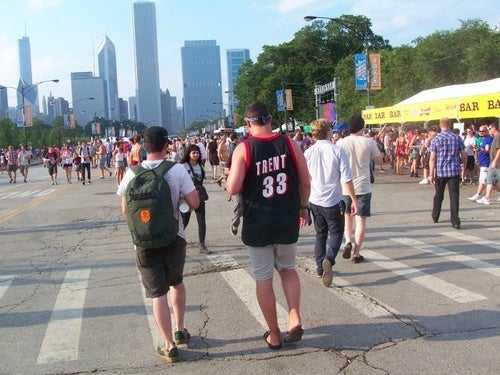 Look At These Fucking Hoopsters At Lollapalooza