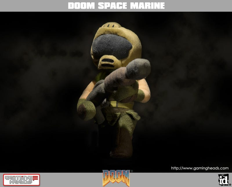 They Released Plush Doom Demons. He's Here To Send Them Back To Hell.