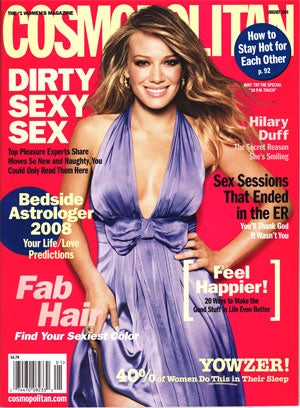 Cosmo Girl Hilary Duff: Intuitive, Practical And Younger Than She Looks