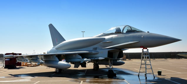 The Typhoon looks like a cool futuristic fighter with its new top tanks