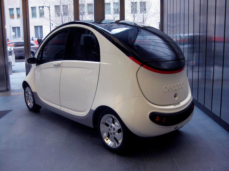 Peapod Mobility First Interior Photos: It's A Targa!