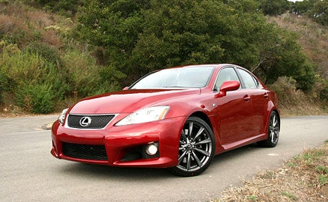 Lexus IS-F, Part 1