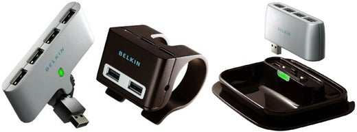 Belkin's Three Truly Awesome USB Hubs Clip and Swivel