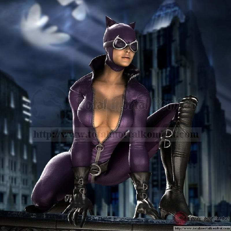 """Sexy Villainness"" in MK v DCU is Apparently Catwoman"