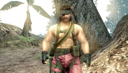 Put A Naked Pink Snake In Your Metal Gear Solid: Peace Walker