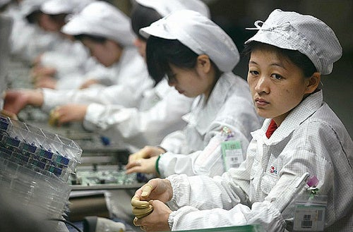 Foxconn Charging More to Offset Price of Keeping Employees From Killing Themselves