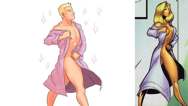 How To Fix Female Comic Characters: Turn Them All Into Hawkeye