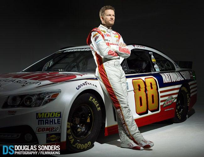 New Dale Earnhardt Jr Nascar Photoshoot by Douglas Sonders