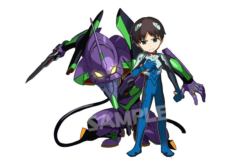 Hearts Melt When Evangelion Meets Puzzle & Dragons