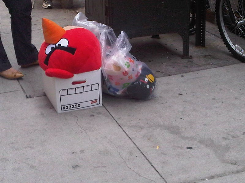 Angry Birds Plush Toys Spotted In Manhattan