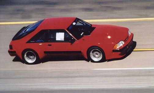 JBA Dominator GTA Mustang: Indy Rear, Foxy Body