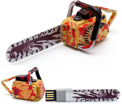 Resident Evil 5 USB Chainsaw Only Kills Nano Zombies, But Stores 2GB of Confidential Umbrella Files