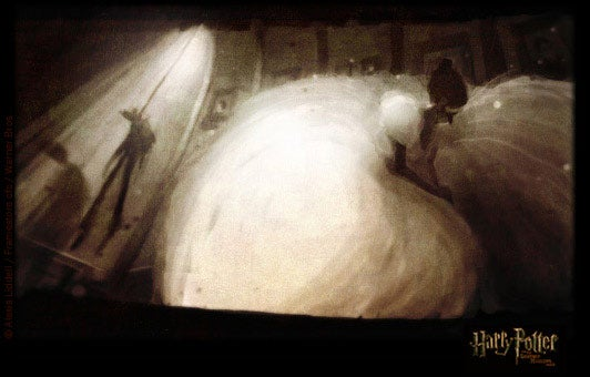 A mother lode of concept art takes you inside Harry Potter's gorgeous Deathly Hallows animation