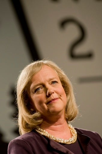 Meg Whitman Shoved A Former Employee, Then Paid Her Off