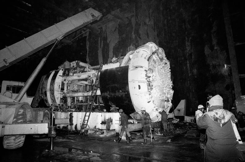 tunnel boring machine cost per mile