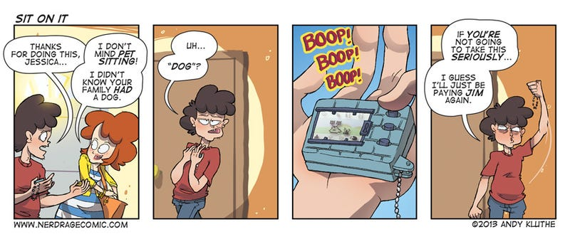 Sunday Comics: Tama-Gotcha