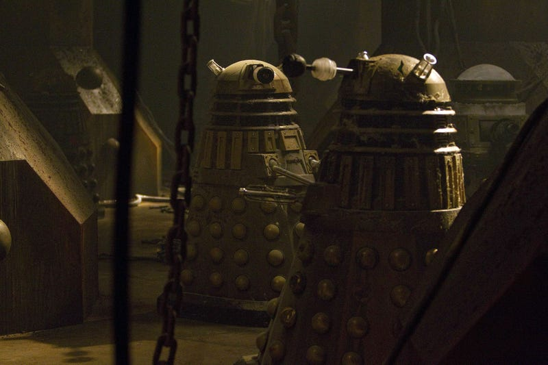 "Doctor Who - ""Asylum of the Daleks"" Pics"