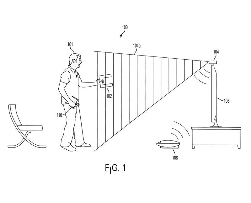 Sony Motion Control Patent Shows Coffee Mug Gaming