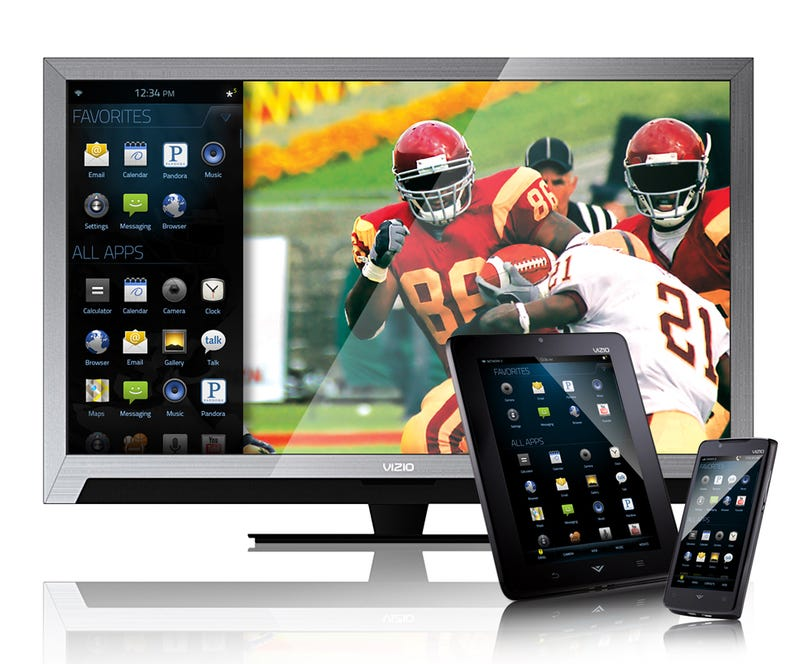 Vizio's Via Tablet and Smartphone Run Android For Cheap