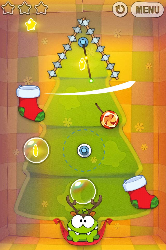 Cut the Rope Holiday Gallery