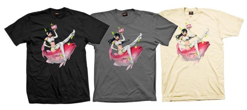 Kotaku-Tan, The T-Shirt For The Kotaku Fan