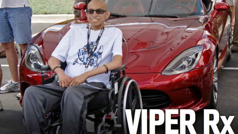 SRT President And Viper Enthusiasts Give 17-Year-Old Cancer Patient The Ride Of His Life