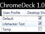 ChromeDeck Creates and Manages Multiple Chrome Profiles