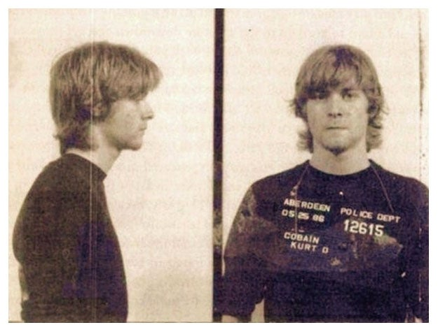 Kurt Cobain Was Once Arrested for Sexual Scooby Doo Graffiti