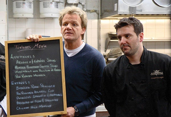 Second Gordon Ramsay Show Chef Commits Suicide