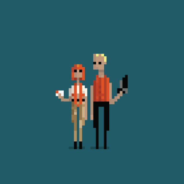 9 Great GIFs That Turn Your Favorite Movies Into 8-Bit Masterpieces