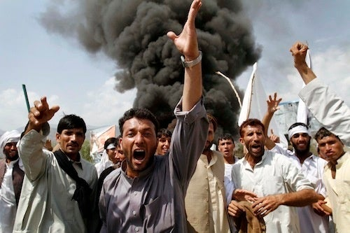 Two Die in Protests Against Cancelled Koran Burning