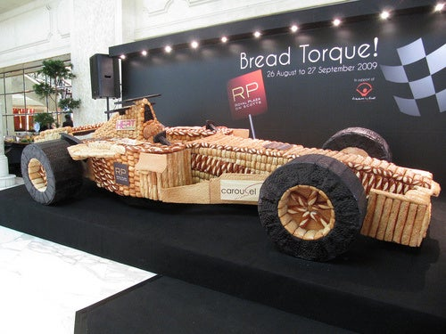 Bread F1 Car