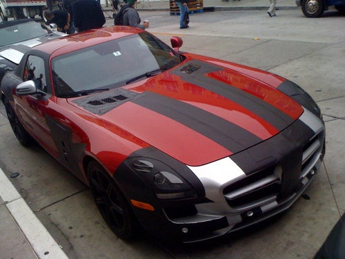 Mercedes SLS AMG Convertible Spotted In Cali