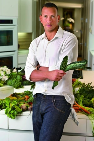 This Is A Photo Of A-Rod Holding Some Kale. You're Welcome.
