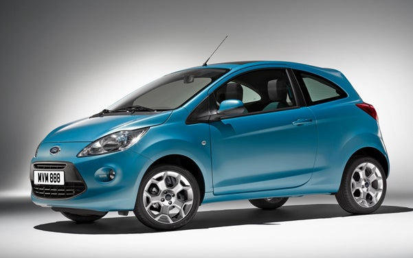 2009 Ford Ka First Official Photo Leaked, Unofficially
