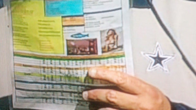 Rob Ryan's Play Chart Had A Photo Of A Woman In A Bikini On It (Updated)