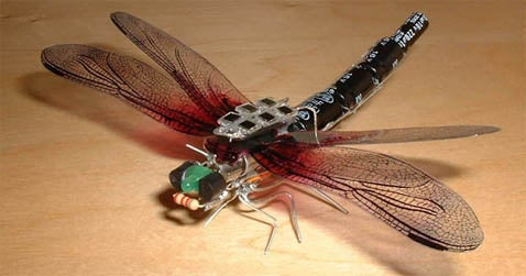 Solar Dragonfly Flaps Wings Feebly, Makes Us Sad
