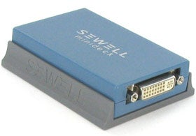 Sewell USB-to-DVI/VGA/HDMI Delivers Resolutions Up to 2,048x1,152