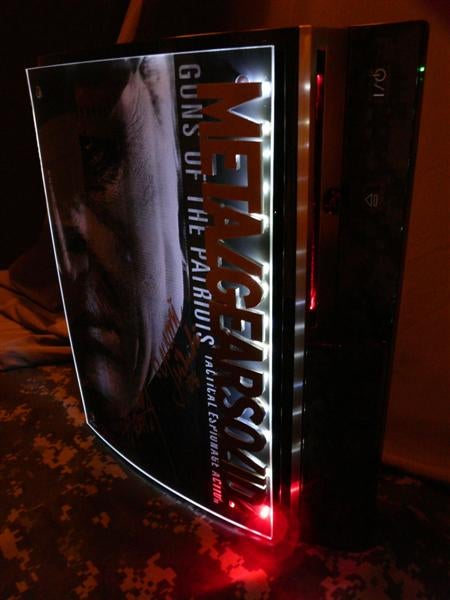 Custom Metal Gear Solid 4 PS3 On eBay Blows Minds and Wallets
