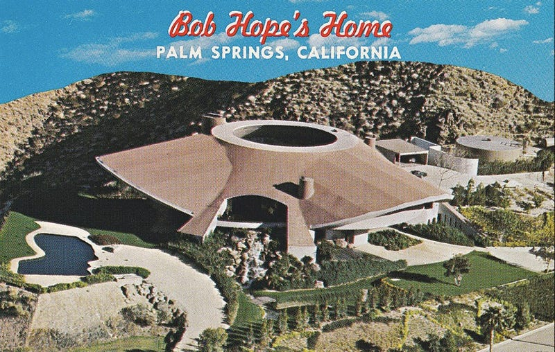 For just $50 million you can live in Bob Hope's giant UFO House