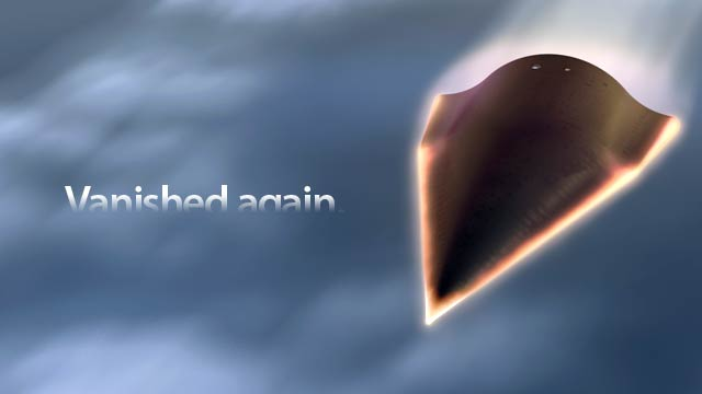 Air Force's Experimental Hypersonic Aircraft Disappears Again