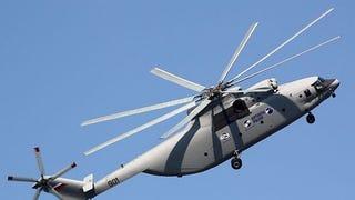China y Rusia fabricarán el helicóptero más grande y potente del mundo